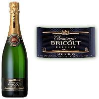 Champagne - Petillant - Mousseux Champagne Bricout Brut Réserve x1