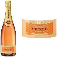 Champagne - Petillant - Mousseux Champagne Bricout Rosé x1