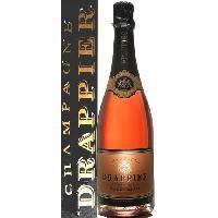 Champagne - Petillant - Mousseux Champagne Brut Drappier Rosé