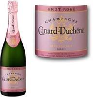 Champagne - Petillant - Mousseux Champagne Canard-Duchene Rosé - Generique