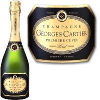 Champagne - Petillant - Mousseux Champagne Cartier Premiere Cuvée x1 - Generique