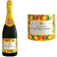 Champagne - Petillant - Mousseux Champagne Charles de Cazanove Cazanova Arlequin Brut AOC - Generique