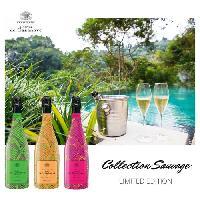 Champagne - Petillant - Mousseux Champagne De Cazanove Cuvee Sauvage Fluo Extra Brut 2011 - Blanco