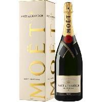 Champagne - Petillant - Mousseux Champagne Moet et Chandon Brut Imperial avec etui - Magnum 1.5 L