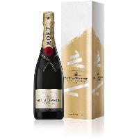 Champagne - Petillant - Mousseux Champagne Moet et Chandon avec etui