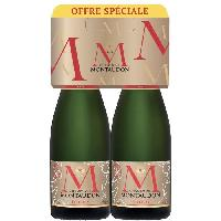 Champagne - Petillant - Mousseux Château Montaudon Brut 6 - 2 bouteilles 75 cl