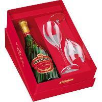 Champagne - Petillant - Mousseux Coffret Champagne Tsarine Brut - 75 cl + 2 flûtes