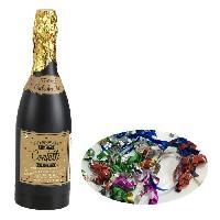 Chapeau - Perruque - Couvre Chef - Accessoire De Tete AMSCAN Canon a confettis - Bouteille multicolore
