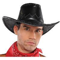 Chapeau - Perruque - Couvre Chef - Accessoire De Tete AMSCAN Chapeau Cowboy - Faux cuir