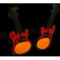 Chapeau - Perruque - Couvre Chef - Accessoire De Tete AMSCAN Lunettes fantaisie Guitare
