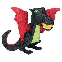 Chapeau - Perruque - Couvre Chef - Accessoire De Tete AMSCAN Pinata Dragon Noir