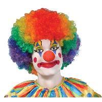 Chapeau - Perruque - Couvre Chef - Accessoire De Tete Perruque Clown Adulte