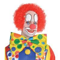 Chapeau - Perruque - Couvre Chef - Accessoire De Tete Perruque Clown Degarni Adulte