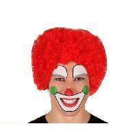 Chapeau - Perruque - Couvre Chef - Accessoire De Tete Perruque Clown Rouge