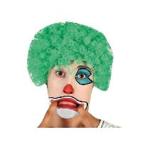 Chapeau - Perruque - Couvre Chef - Accessoire De Tete Perruque Clown Vert