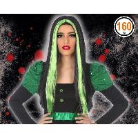 Chapeau - Perruque - Couvre Chef - Accessoire De Tete Perruque Halloween Adultes Femmes - Vert