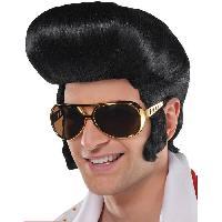 Chapeau - Perruque - Couvre Chef - Accessoire De Tete Perruque Le King - Taille Adulte