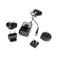 Chargeur - Adaptateur Secteur - Allume Cigare - Solaire Alimentation universelle - 9V DC 0.5A