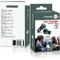 Chargeur - Adaptateur Secteur - Allume Cigare - Solaire Chargeur allume cigare - 2 ports USB - 5.0V
