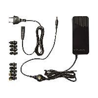 Chargeur - Adaptateur Secteur - Allume Cigare - Solaire Nedis NBARU120WBK Adaptateur secteur CA 100-240 V 120 Watt noir