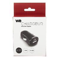 Chargeur - Adaptateur Secteur - Allume Cigare - Solaire WE Chargeur allume-cigare USB 1 port - Format mini - Noir