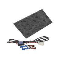 Chargeur Induction Qi Base de charge sans fil Induction Qi 12V compatible avec Suzuki Swift Noir