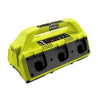 Chargeur Pour Machine Outil RYOBI Chargeur 18 V 6 ports