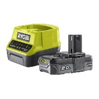 Chargeur Pour Machine Outil RYOBI Pack chargeur + Batterie - 18V 2Ah