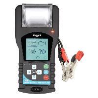 Chargeurs de batteries - boosters Analyseur- Testeur De Batterie Et Alternateur 12-24v Avec Imprimante