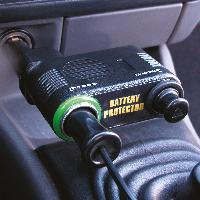Chargeurs de batteries - boosters Protecteur de batterie 12V 10A LED vert