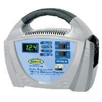 Chargeurs de batteries Chargeur de batterie 12V - 12A - 180AH - Automatique Ring