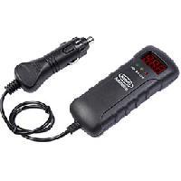 Chargeurs de batteries Testeur de batterie 1224V RING par prise AC