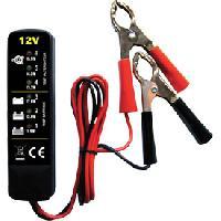 Chargeurs de batteries Testeur de batterie electronique 12V - ADNAuto