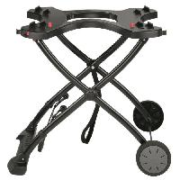Chariot - Support Barbecue Plancha Chariot pour barbecues series Q 1000 et 2000