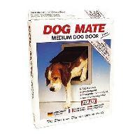 Chatiere - Trappe - Porte PETMATE Portillons 2 voies Dog Mate XL - Blanc - Pour chien