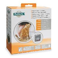 Chatiere - Trappe - Porte PETSAFE Chatiere Staywell classique - Gris anthracite - Pour chat