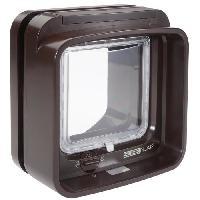 Chatiere - Trappe - Porte SUREFLAP DualScan Chatiere a puce électronique marron - Generique