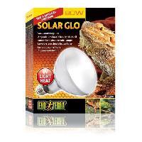 Chauffage EXO TERRA Ampoule a vapeur Solar Glo 80 W - Pour reptiles