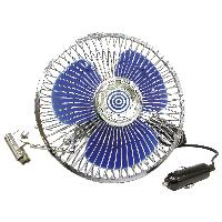 Chauffage et Ventilateur Ventilateur 12V - Diametre 15.3cm