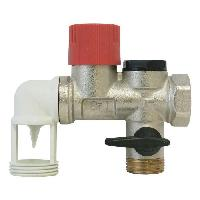 Chauffe-eau Groupe de securite NF - Inox coude 34