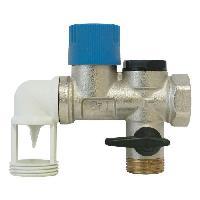 Chauffe-eau Groupe de securite NF - Laiton coude 34