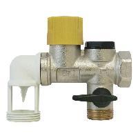 Chauffe-eau Groupe de securite NF - Teflon coude 34