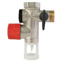 Chauffe-eau Groupe de securite NF droit pour Chauffe-eau - 34