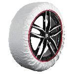 Chaussette neige textile - XXL Blanc - Husky
