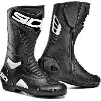 Chaussure - Botte - Sur-chaussure Bottes de moto Performer - Noir Blanc - 44