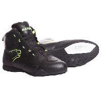 Chaussure - Botte - Sur-chaussure Chaussures Moto Jasper Noir et Jaune - 43