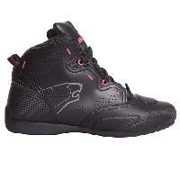 Chaussure - Botte - Sur-chaussure Lady Chaussure Moto - Jasper - Noir - Fushia - 36
