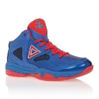Chaussures De Basket-ball Chaussures de Basket TP3 - Enfant - Bleu - Rouge - 35