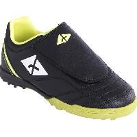 Chaussures De Football En Salle - Futsal - Jorkyball ATHLITECH Chaussures de Foot pour terrain stabilise enfant TF 104 - Noir - 28 - Athli-tech