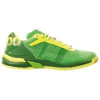 Chaussures De Handball Chaussures de handball Attack Three Contender - Homme - Vert et jaune fluo - 44